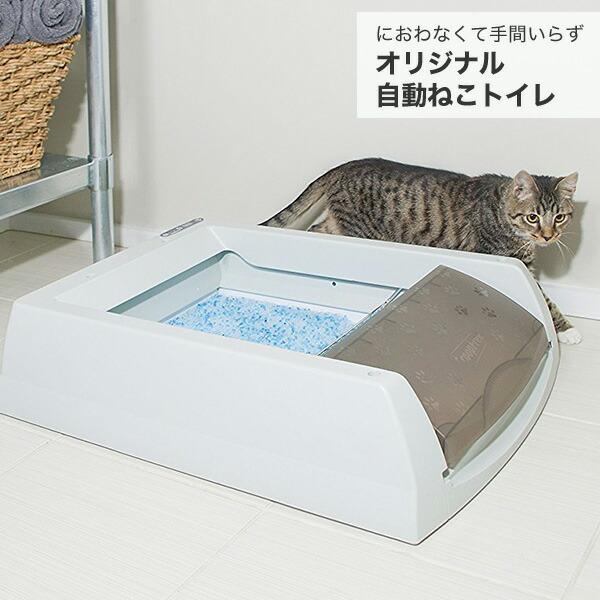 忙しいあなたにおすすめ 手間のすくない自動猫トイレ
