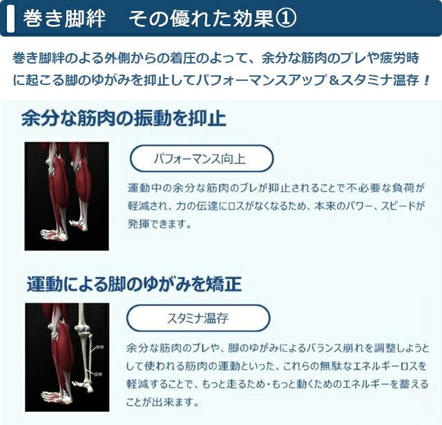 日本古来のふくらはぎサポート「巻き脚絆」