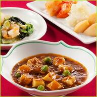 麻婆豆腐とおかず4種