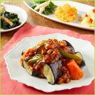 彩り野菜の麻婆茄子セット