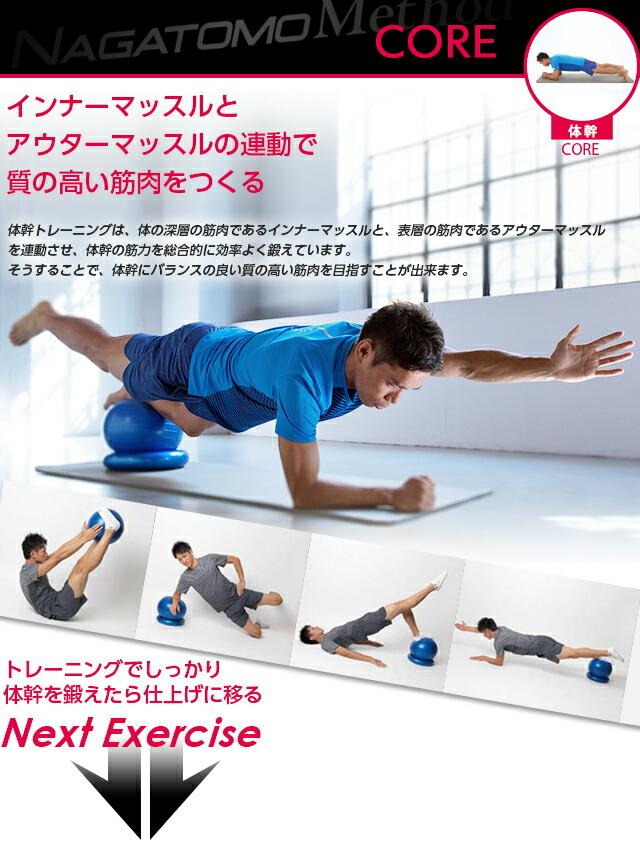 NAGATOMO Method コアトレーニング