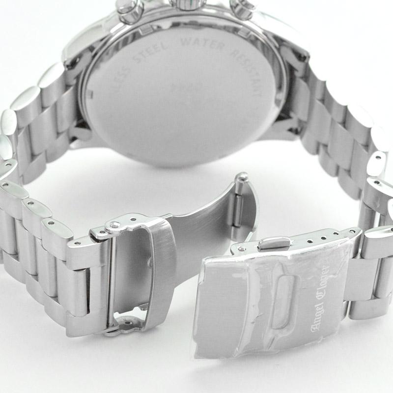 エンジェルクローバー ダブルプレイ ネイビー 10気圧防水 DP44SNV メンズ