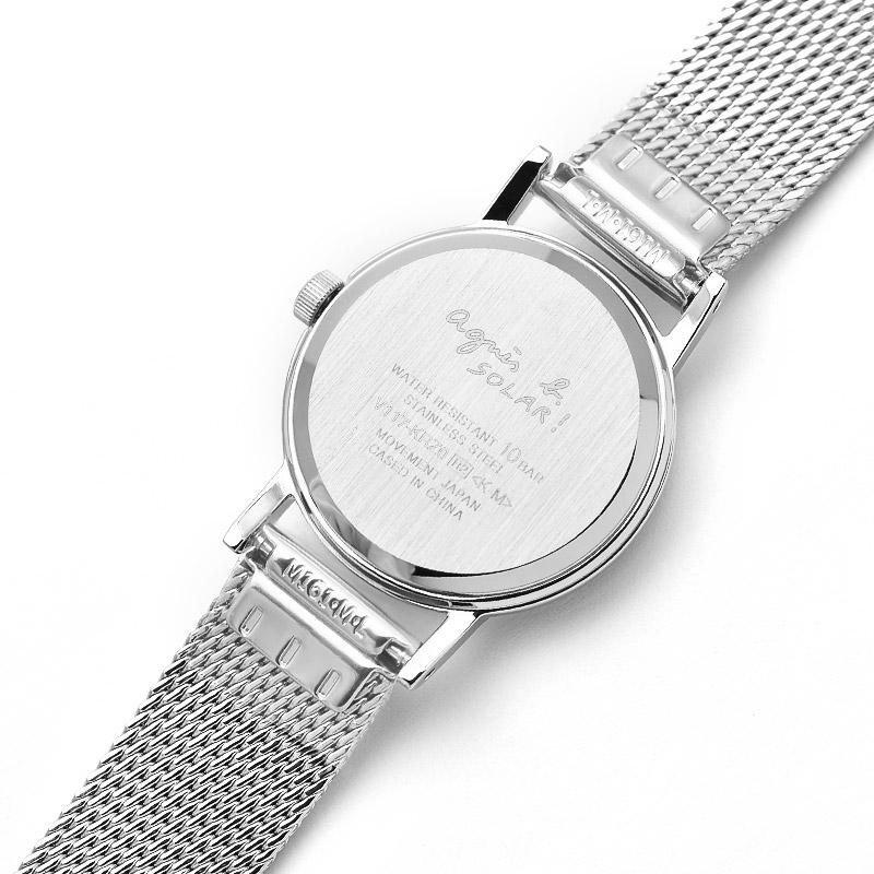 アニエスベー 時計 レディース ソーラー agnesb ステンレス FBSD944 レディース