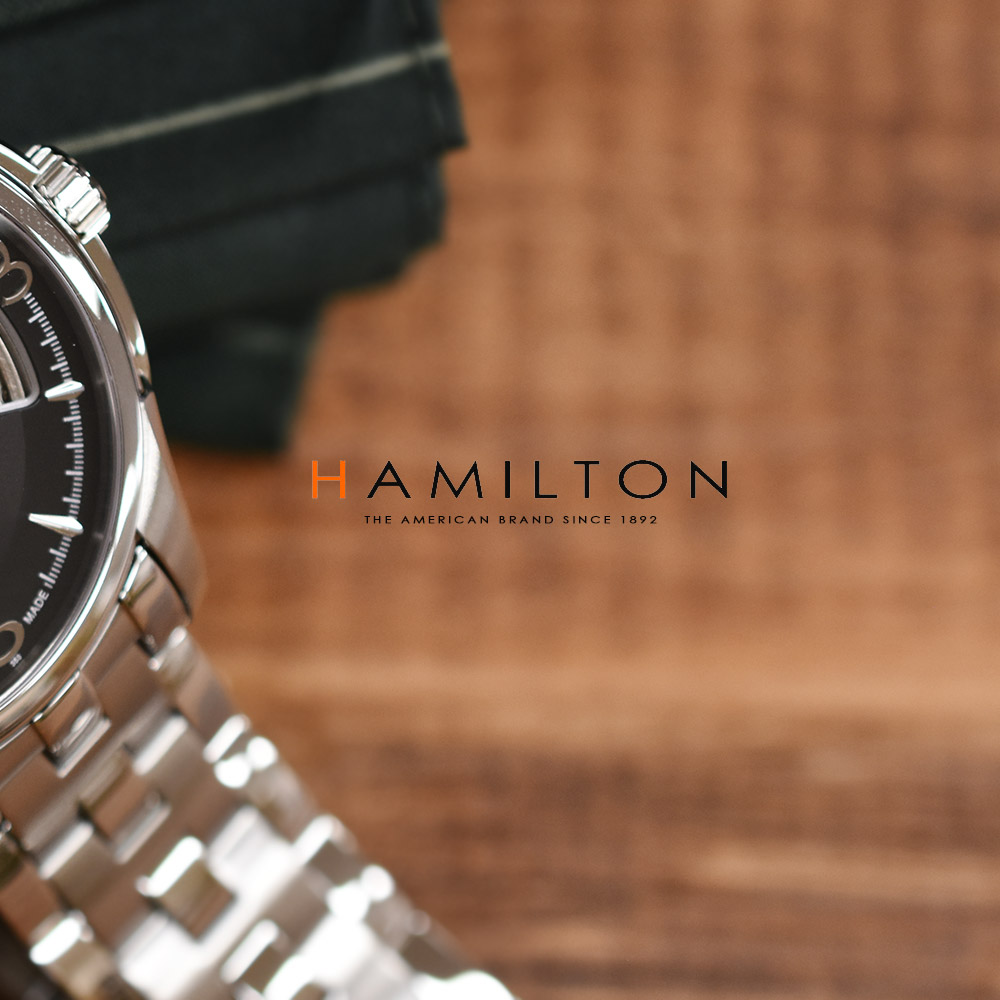 ハミルトン オープンハート H32565135 メンズ