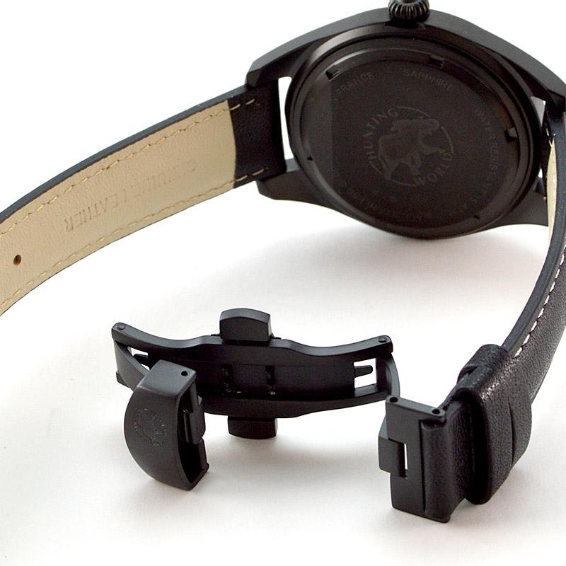 ハンティングワールド HWM002BKBR メンズ