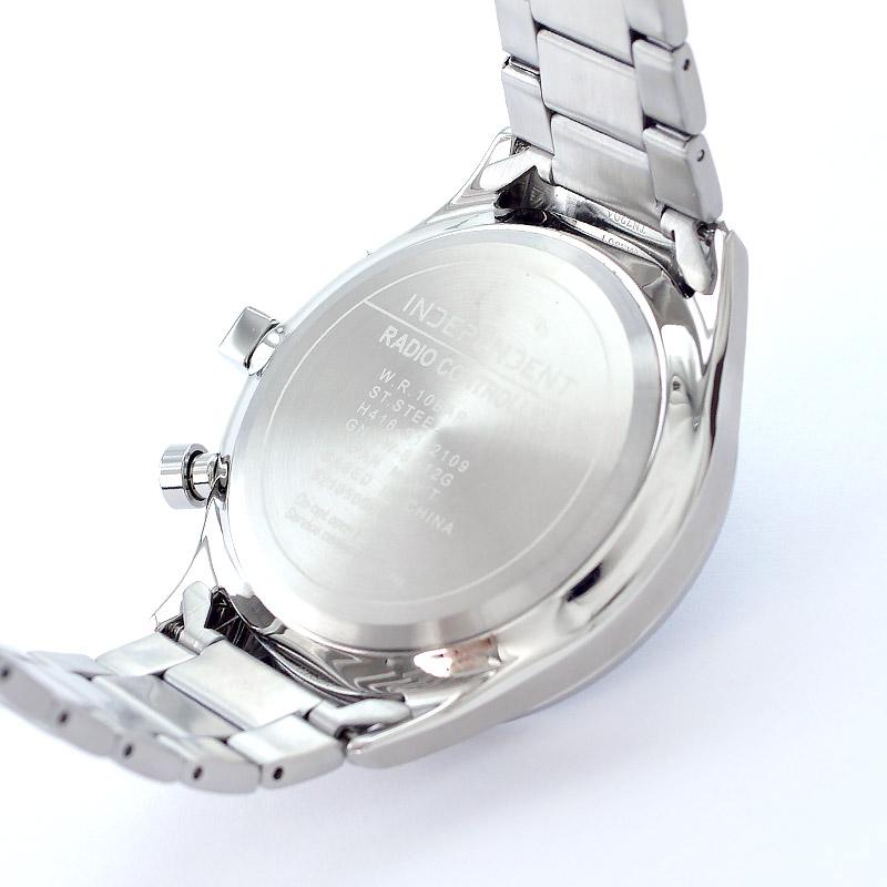 インディペンデント Timeless Line ソーラーテック電波時計 KL8-619-11 メンズ