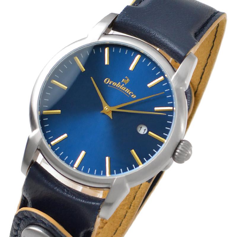 時計 タイムオラ チントゥリーノ メンズ 【あす楽】 OR-0058-5 Orobianco 限定20本 レディース ラムレザー 腕時計 カレンダー オロビアンコ 正規品