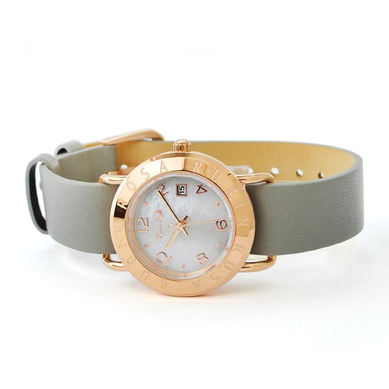 ルビンローザ ルビンローザ レディース 腕時計 ソーラー 時計 替えベルト付き R601SWHPK/R601GWHNV/R601PWHLG R601SWHPK レディース
