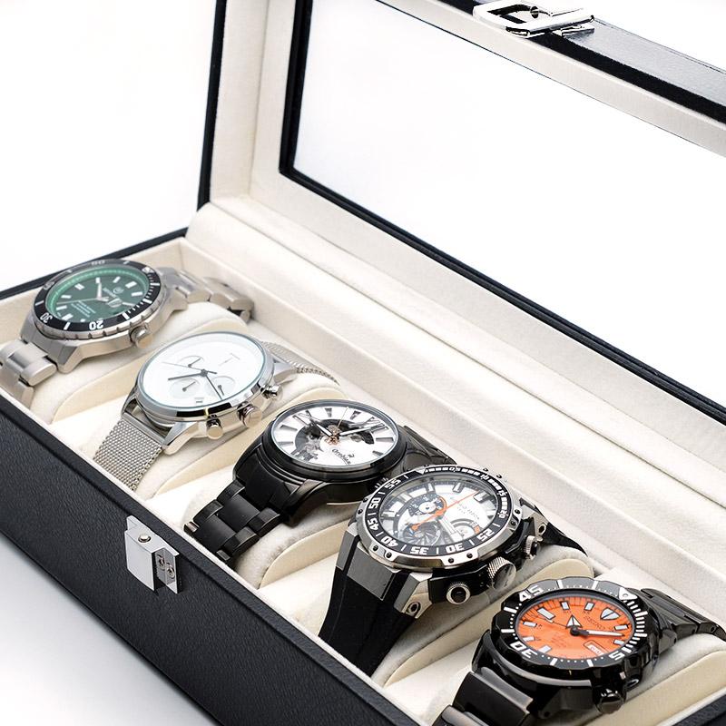 時計ケース ユニセックス