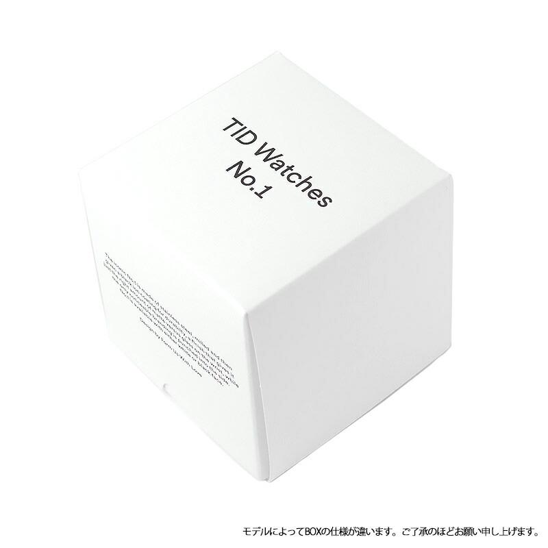 ティッドウォッチ TID03-BK/BK ユニセックス