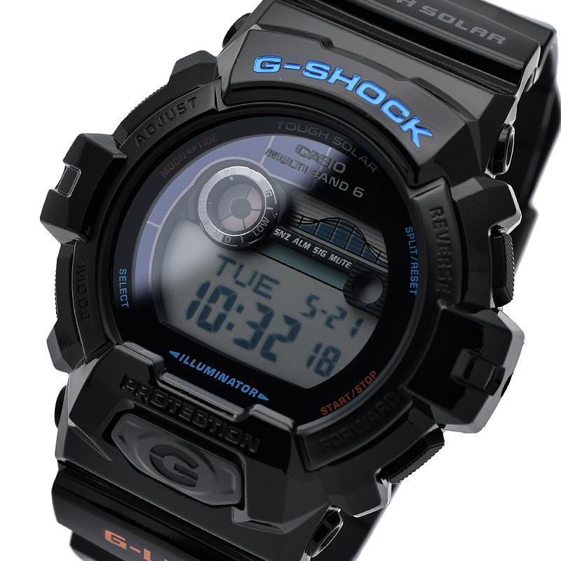 カシオ Gショック G-LIDE ジーライド タフソーラー 電波時計 MULTIBAND 6  GWX-8900-1JF メンズ