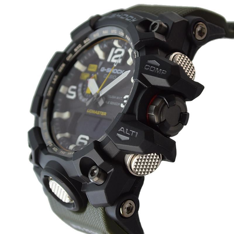 カシオ Gショック マッドマスター ソーラー電波 GWG-1000-1A3JF メンズ