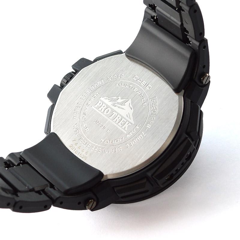 カシオ プロトレック ソーラー電波 PRW-7000FC-1JF メンズ