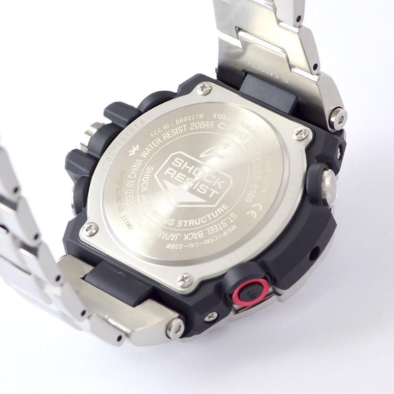 カシオ Gショック Bluetooth  GST-B100D-1AJF メンズ