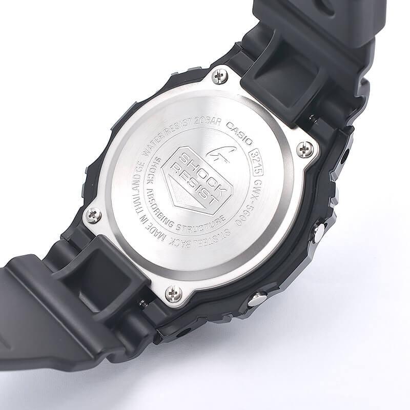 カシオ Gショック  G-LIDE ジーライド タフソーラー 電波時計 MULTIBAND6 GWX-5600-1JF メンズ