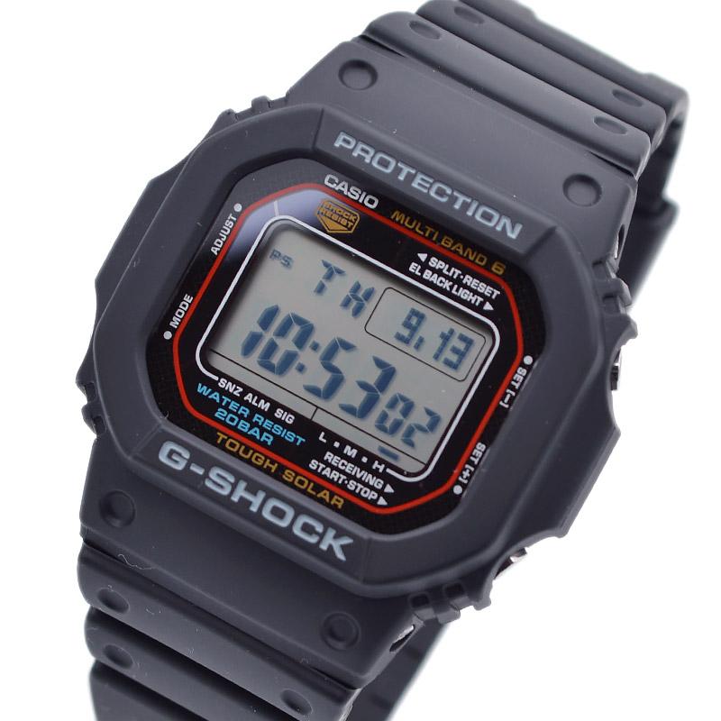 カシオ Gショック タフソーラー 電波時計 MULTIBAND 6 GW-M5610-1JF メンズ