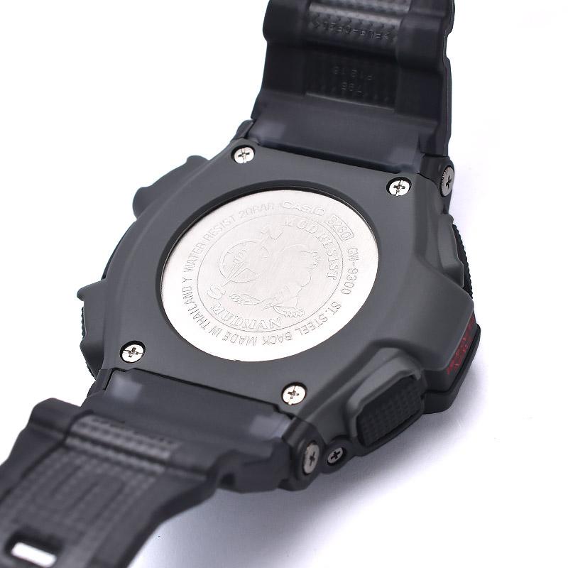 カシオ Gショック マスターオブG マッドマン 世界6局電波対応 ソーラー電波 GW-9300-1JF メンズ