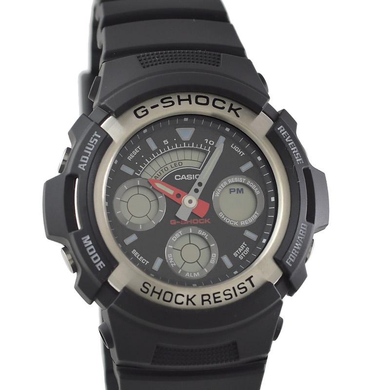 カシオ Gショック STANDARD G-SPIKE Gスパイク ブラック×ブラック G-300-3AJF メンズ