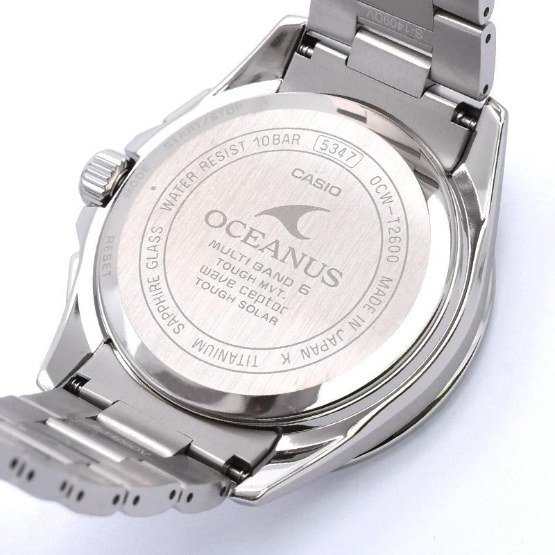 カシオ オシアナス OCW-T2600-2A2JF メンズ
