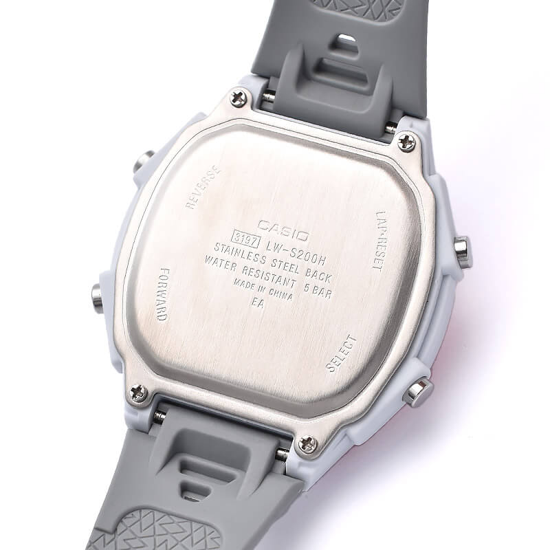 カシオ ソーラー LW-S200H-4AJF レディース