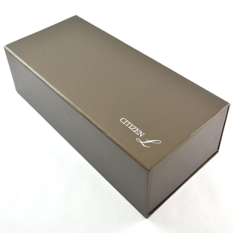 シチズン シチズンL エコドライブ ソーラー EM0327-50D レディース