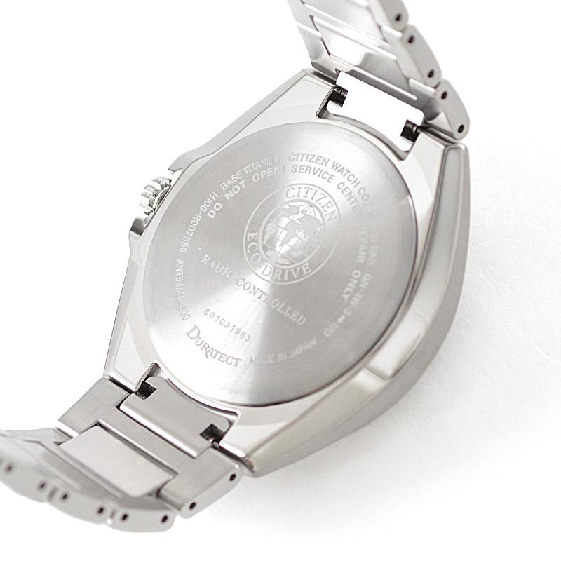 シチズン アテッサ エコドライブ GPS ネイビー×シルバー AT6050-54L メンズ