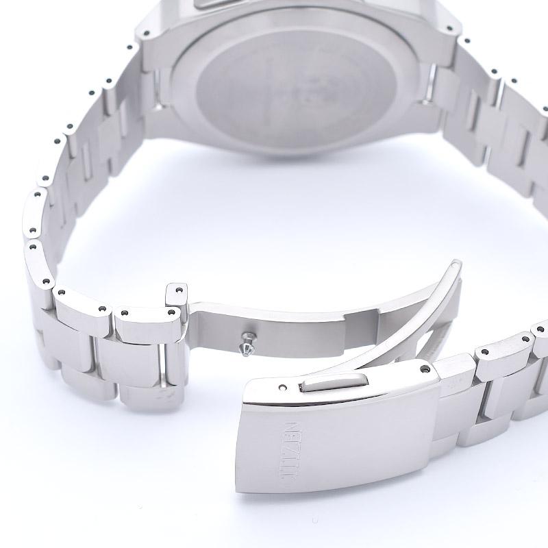 シチズン アテッサ ダイレクトフライト エコドライブ ソーラー電波 クロノグラフ CB0120-55E メンズ