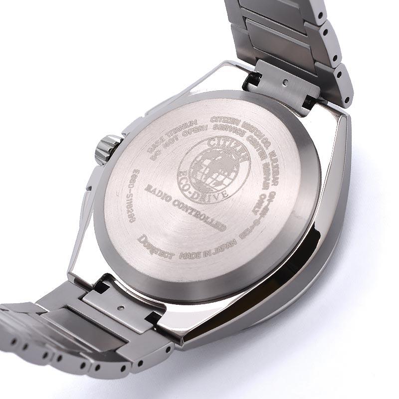 シチズン アテッサ エコドライブ電波 CB5040-80E メンズ