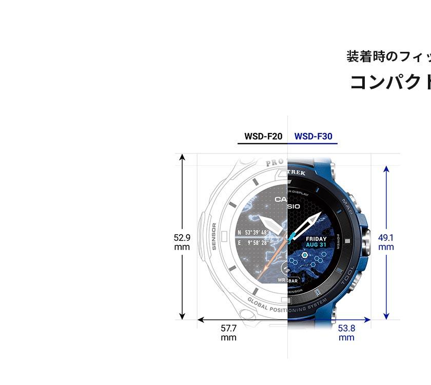 プロトレックスマート メンズ WSD-F30-BK