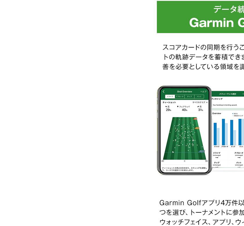 ガーミン GARMIN アプローチ