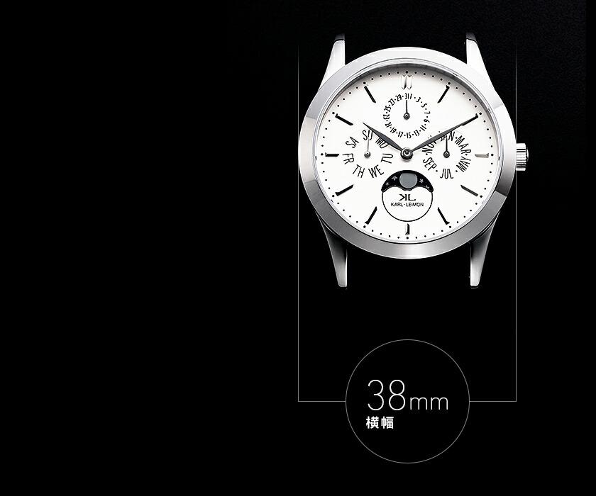 ムーンフェイズ メンズ 腕時計