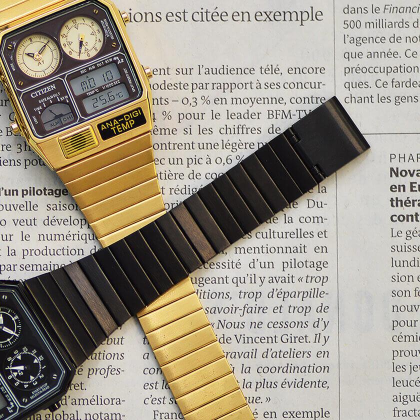 アナデジテンプ 腕時計