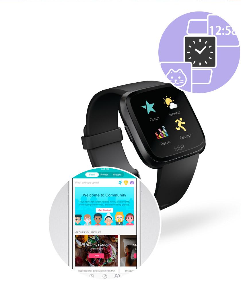 フィットビット FB505BKGY-CJK ユニセックス 腕時計