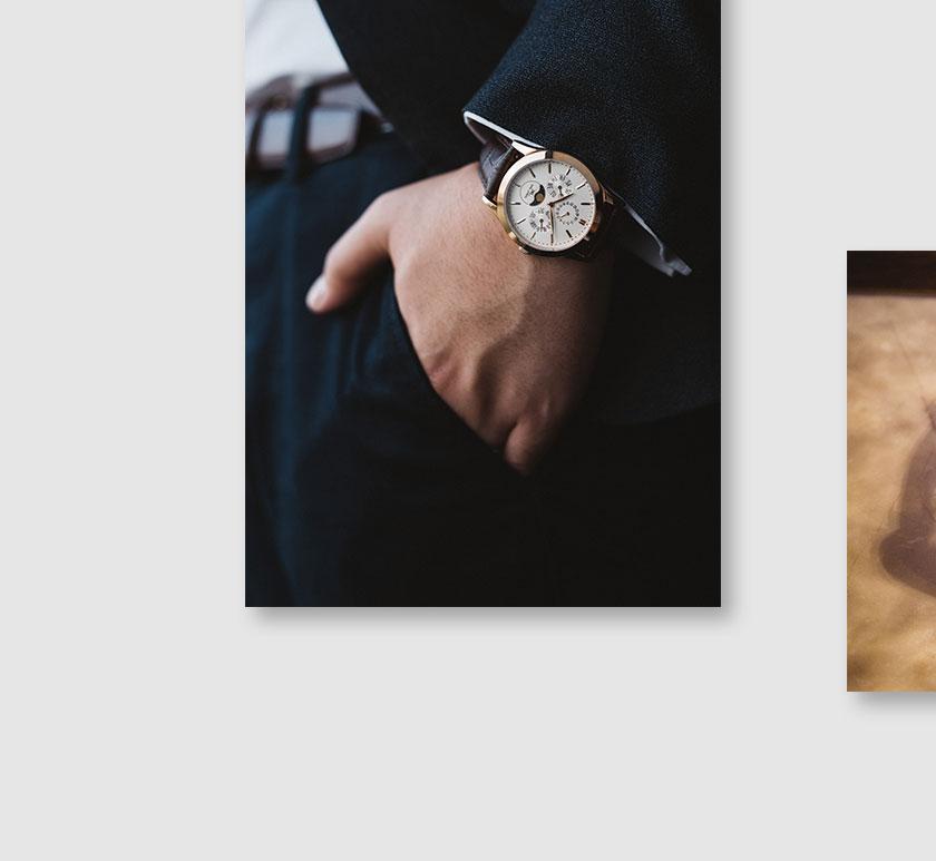 カルレイモン KARL-LEIMON CPWH01G メンズ 腕時計