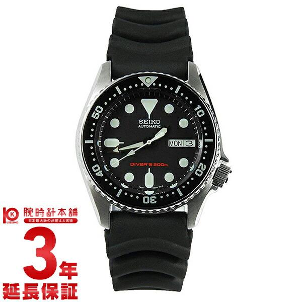 セイコー逆輸入モデル ダイバーズ 200m防水 機械式(自動巻き) SKX013K メンズ