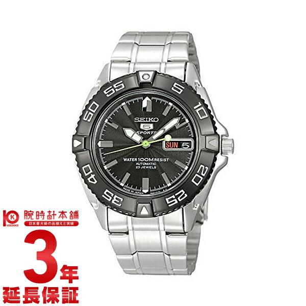 セイコー5 逆輸入モデル 5スポーツ ダイバーズウォッチ 100m防水 機械式(自動巻き) SNZB23J1 メンズ