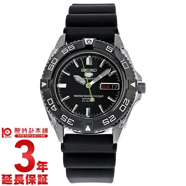 セイコー5 逆輸入モデル 5スポーツ 100m防水 機械式(自動巻き) SNZB23J2 メンズ