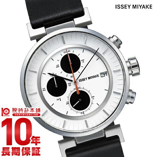 イッセイミヤケ W ダブリュ クロノグラフ 和田智デザイン SILAY003 メンズ