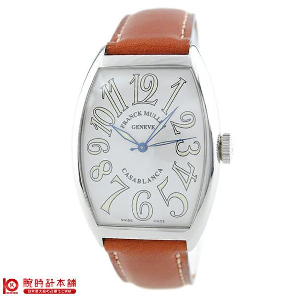 フランクミュラー  6850 CASA 白/茶革 メンズ