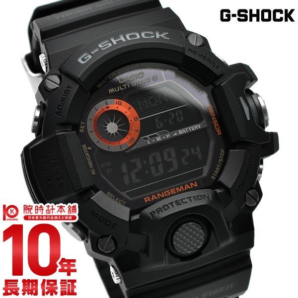 カシオ Gショック レンジマン 世界6局ソーラー電波 GW-9400BJ-1JF メンズ