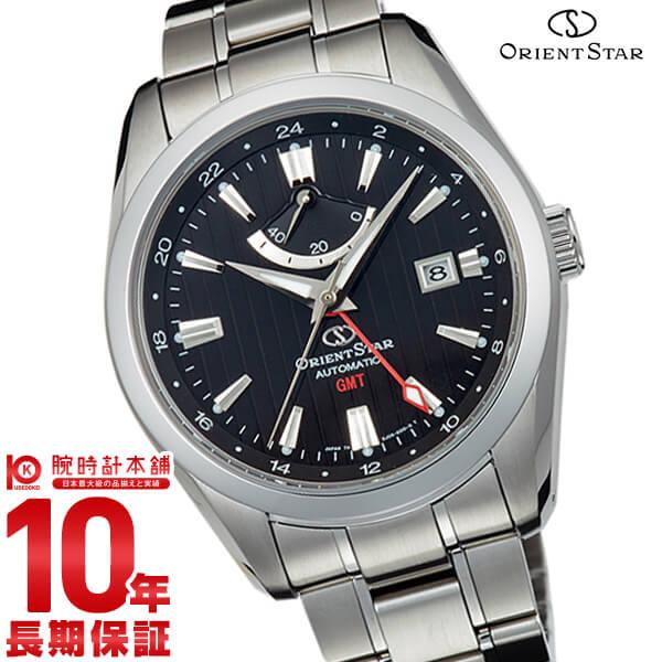 オリエントスター ORIENTSTAR オリエントスター GMT 機械式 自動巻き (手巻き付き) ブラック WZ0061DJ メンズ