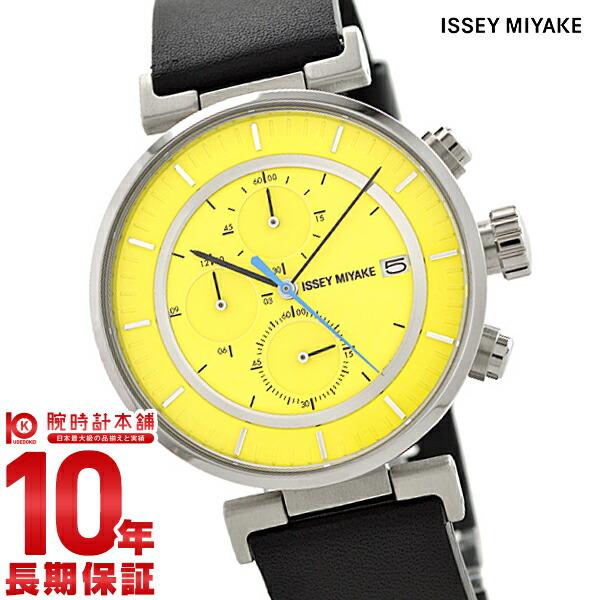 イッセイミヤケ Wダブリュクロノグラフ和田智デザイン SILAY010 メンズ