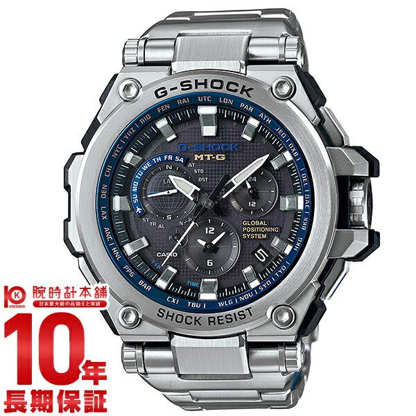 カシオ Gショック MT-G GPSハイブリットソーラー電波 MTG-G1000D-1A2JF メンズ