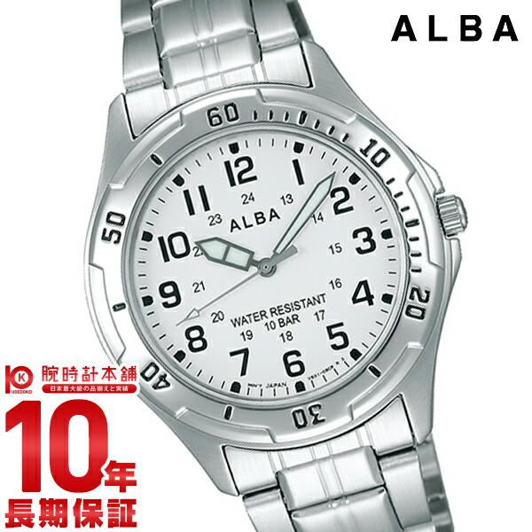 セイコー アルバ 100m防水 AQPS001 ユニセックス