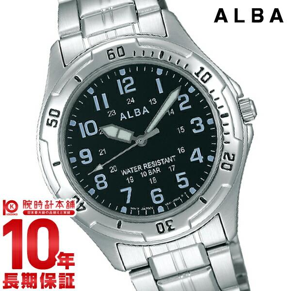 セイコー アルバ 100m防水 AQPS003 ユニセックス