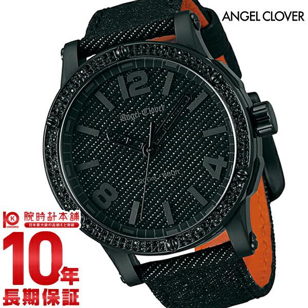 エンジェルクローバー 【300本限定】腕時計 エクスベンチャー(SENSEコラボレーション) デニム スワロフスキーエレメンツ EV46BBZ-BD メンズ