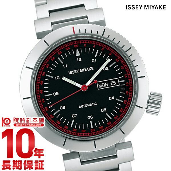 イッセイミヤケ 自動巻き腕時計Wダブリュ和田智デザイン NYAE001 メンズ