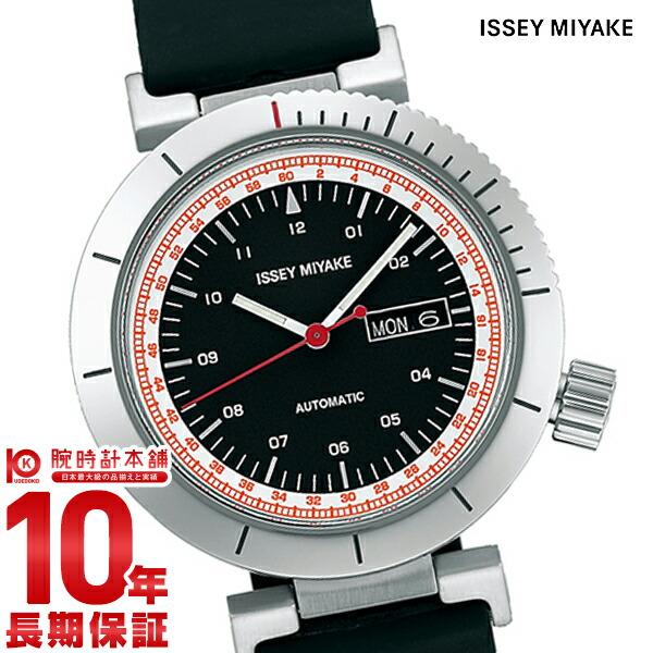 イッセイミヤケ 自動巻き腕時計Wダブリュ和田智デザイン NYAE002 メンズ