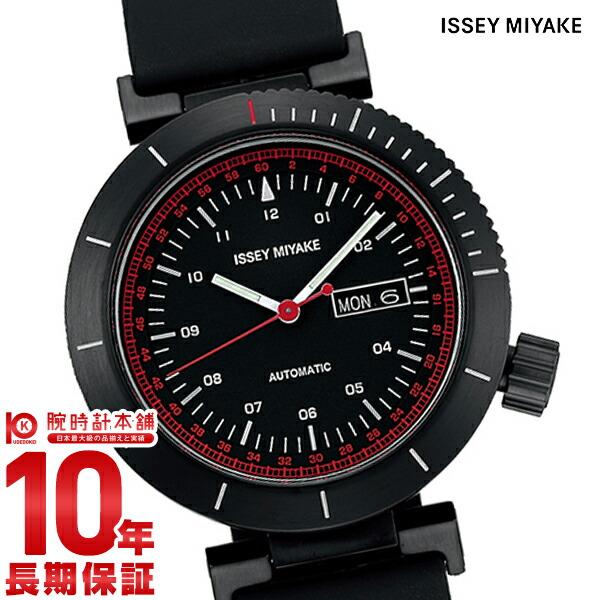 イッセイミヤケ 自動巻き腕時計Wダブリュ和田智デザイン NYAE003 メンズ
