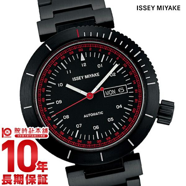 イッセイミヤケ 限定モデル自動巻き腕時計Wダブリュ和田智デザイン NYAE701 メンズ